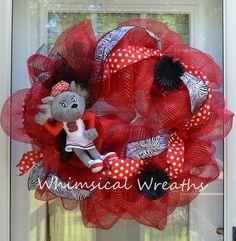 NC State Wreath