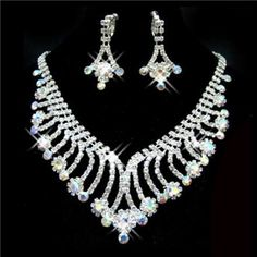 wedding jewelry sets gold