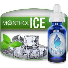 E-Liquid HALO Menthol ICE