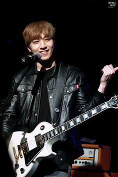 ©New Way | Do not edit. Day6, Rapper, Park Sung Jin, Kim Wonpil, Young K, Bob The Builder, K Idols, Beautiful Babies, Rock Bands