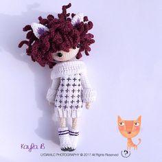 Crochet Doll Pattern Kayla B 凯拉 B. Wildcat Girl
