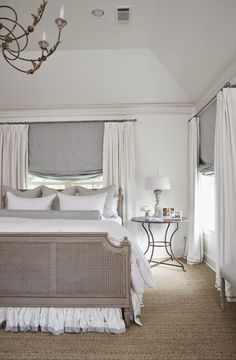 drapes and design in front of window
