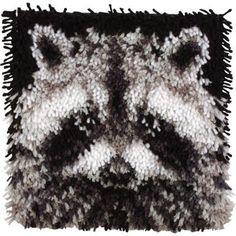 Everything Latch Hook - Raccoon