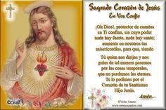 CORAZÓN DE JESÚS Y DE MARÍA : ORACIONES AL SAGRADO CORAZÓN DE JESÚS