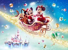Sparkling Disney Christmas 2013 Wallpaper #Chistmas