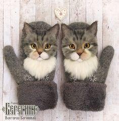 Freeform Crochet, Knit Crochet, Crochet Hats, Fabric Animals, Felt Animals, Cat Scarf, 3d Figures, Felted Wool Crafts, Felt Cat