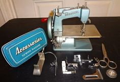 Baby Brother Toy Nippon Sewing Machine Battery Operated