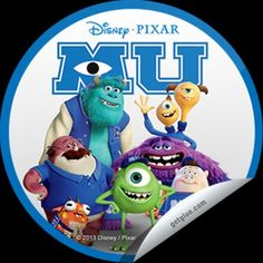"""MONSTERS UNIVERSITY"" MU Movie is from Disney Pixar Movies. large_tile.jpg (420×420)"