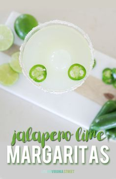 After months of taste testing, I've perfected this jalapeno lime margarita recipe. It's refreshing and light with the perfect amount of kick!