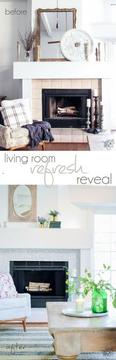 New Room New Year Challenge Living Room Refresh Reveal