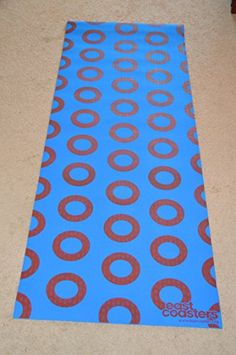 East Coasters Recycled Material Ecofriendly Fishman Donut Yoga Accessories  -- Want to know more 6c76c6461b45b