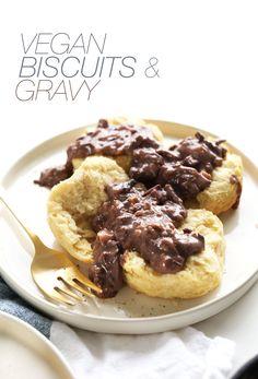 Vegan Biscuits and Gravy | Minimalist Baker