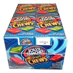 Jolly Rancher Fruit Chews (Pack of 12)