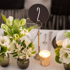 modern table numbers - Google Search