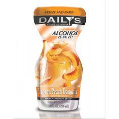 daily's frozen pouches....adult capri sun!!!!