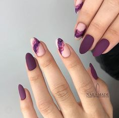 Mauve color nails are something unbelievably trendy in the world of modern nail art What is more, the shade itself is anything but ordinary, and that simply makes you try it out! All the best mauve colored nail art designs gathered in one place ju - # Elegant Nails, Stylish Nails, Trendy Nail Art, Gorgeous Nails, Pretty Nails, Perfect Nails, Hair And Nails, My Nails, Nagel Hacks