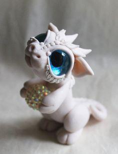 White Blue Eyed Baby by BittyBiteyOne