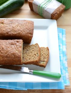 Banana Zucchini Bread - my two favorite breads smooshed together into awesome
