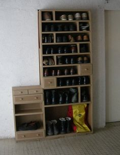 1000 images about meuble en carton on pinterest cardboard furniture cardb - Meubles a chaussures ...