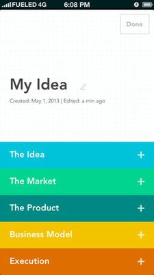 screenshot of Elevatr iOS application Mobile Ui Design, App Design, Flat Design, Iphone Interface, Mobile App Templates, Health App, Electronic Media, Ui Inspiration, Interface Design