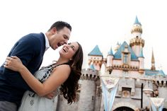 Disneyland Engagement Session by Brandon Wong Photography