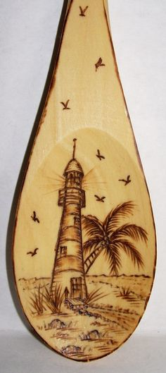 "#4-2011,  ""Lighthouse - USA"", with Palm"