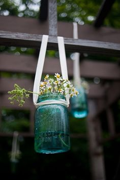 Flowers and Mason Jars!