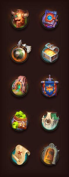Game Icons by NestStrix.deviantart.com on @DeviantArt