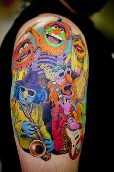 LOVE this muppets tattoo