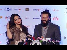 Riteish Deshmukh & Genelia D'Souza at MAMI 18th Mumbai Film Festival 2016.