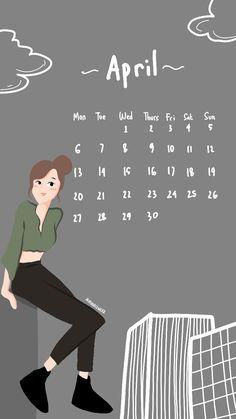 Print Calendar, Calendar 2020, Wallpaper Wa, Cute Love Cartoons, Kawaii Crafts, Anime, Notes, My Love, Mood
