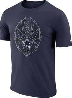 9e9dbd3a903 Nike Men s Dallas Cowboys Icon Performance Navy T-Shirt