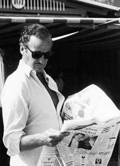 David Niven reading