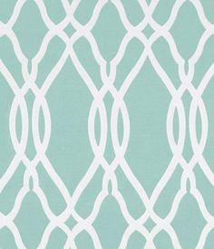 Large geometric woven design.