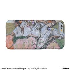 Three Russian Dancers by Edgar Degas Barely There iPhone 6 Case