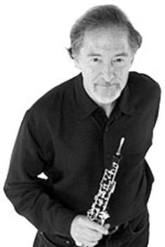 Oboist Allan Vogel. His musicality and beauty inspires me.