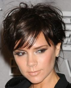 and Victoria Beckham.  Girl if I had a jawline like that, I'd have a pixie cut too.