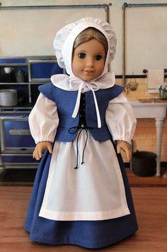 Pilgrim Ensemble by BabiesArtUs for American Girl dolls