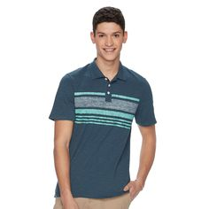 Men's Urban Pipeline® Jersey Polo, Size: Small, Dark Blue