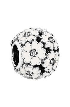 PANDORA 'Primrose' Flower Bead Charm