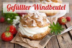 In allen Teilen Deutschland stets beliebt sind unsere heutigen lockeren, fluffig-leichten Windbeutel aus Brandteig, gefüllt mit frischer Sahne - ein Hauch von süßem Nichts und im Handumdrehen gemacht