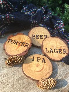 A personal favorite from my Etsy shop https://www.etsy.com/listing/550912227/brewbeer-themed-wood-burned-coaster-gift