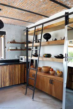 A Rustic Industrial Kitchen Makeover / Renovación De Cocina Estilo Rústico  Industrial   Casa Haus Decoración