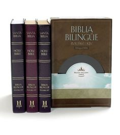 "A quick and easy parallel edition of the Bible. All the elegance of the Reina Valera Revision 1960 combined with the poetic beauty of the King James. This Bible is a great choice for those studying English or Spanish as a second language or for pastors of Spanish-speaking churches. Features: Words of Christ in red; presentation page; Bible reading helps; harmony of the life of Christ; ribbon marker (genuine and bonded leather editions only); trim: 6 5/16"" x 9 1/4""; 1792 pa..."