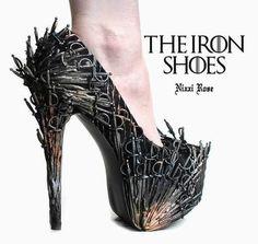 Bem Legaus!: Sapatos de Ferro