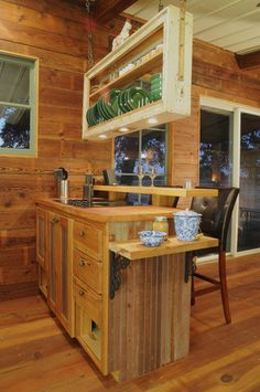 """Reclaimed Space prefab cabins made from reclaimed materials. Read the """"why reclaim"""" to find the astonishing facts of the U.S. building industries footprint on the environment."""