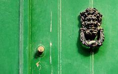 Green Door Detail fine art print by GrayTabbyCat on Etsy, $12.00