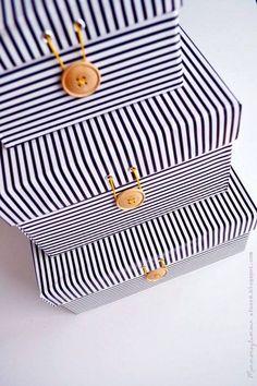 Streifen Boxs