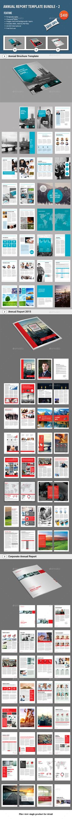 annual report template bundle 2 informational brochuresdownload here http