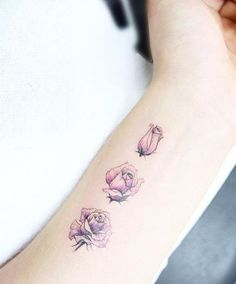 Most Beautiful Ever Rose Tattoo Design For Girls